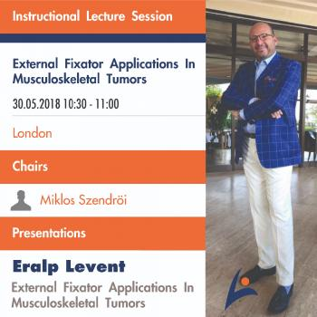 Instructional Lecture Session - External Applications in Musculoskeletal Tumors - Presentations - LEVENT ERALP